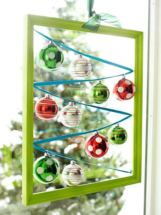 Ideias simples para seu decoração de natal