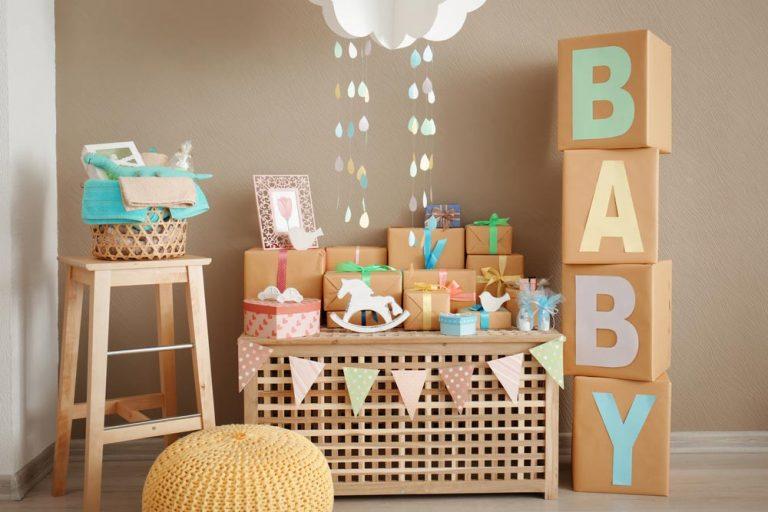 Dicas de como organizar um chá de bebê